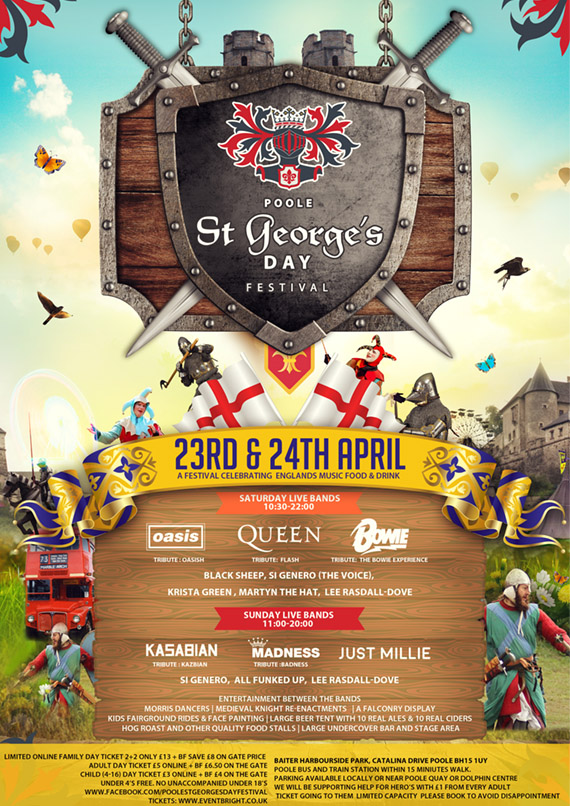 ST Georges Day Poole 2016